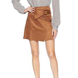 ASTR the label Dionne overlap skirt